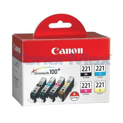 CANON CLI-221 INK CART CMYK